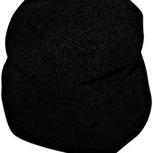 KANGOL Black Bucket Hat NWOT Beach Acrylic Blend